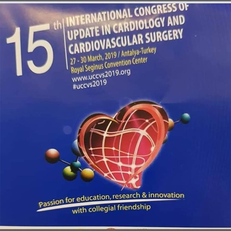 We were at the 15th International Cardiology and Cardiovascular Surgery Congress.