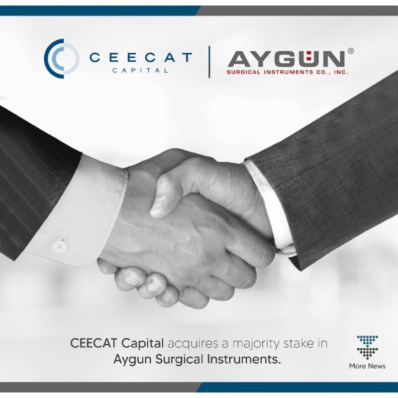 CEECAT Capital acquires a majority stake in Aygun Surgical Instruments
