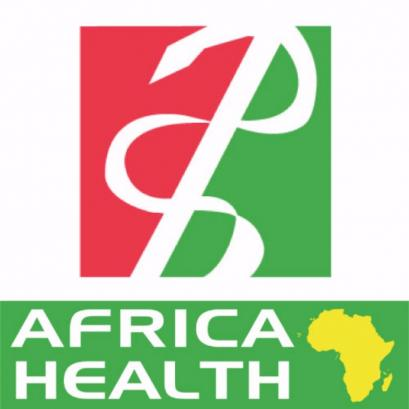 We were at Africa Health Exhibition.