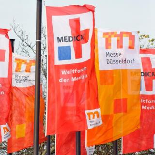 We were at Medica Exhibition